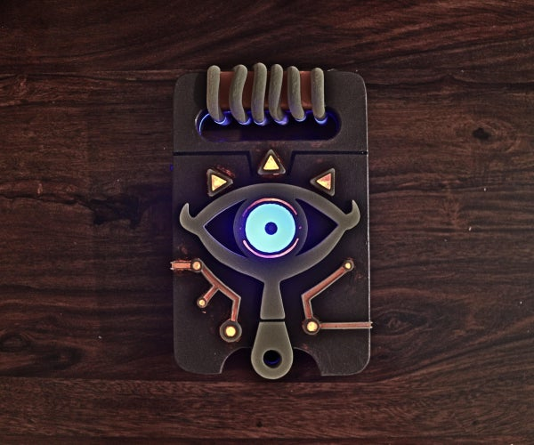 The Sheikah Slate From Breath of the Wild