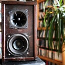 Vintage Hipster Upcycled Bluetooth Speakers from Wooden Drawer