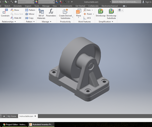 How to Create an Assembly  in Inventor
