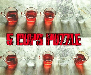 5 Cups Puzzle
