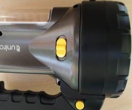 Old Torch / Lantern Battery Upgrade
