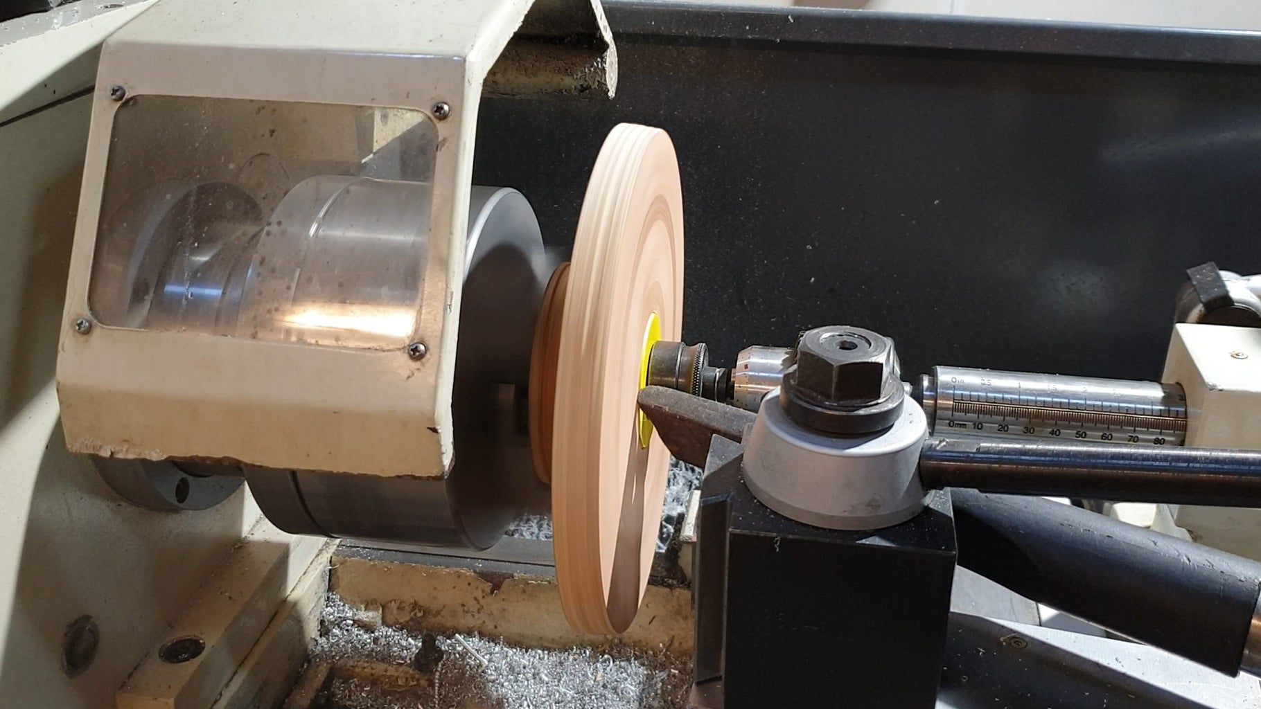 Joining on the Largee Ply Pulley
