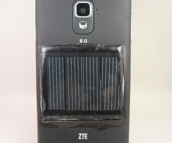SolarAssist: a Smartphone Modification