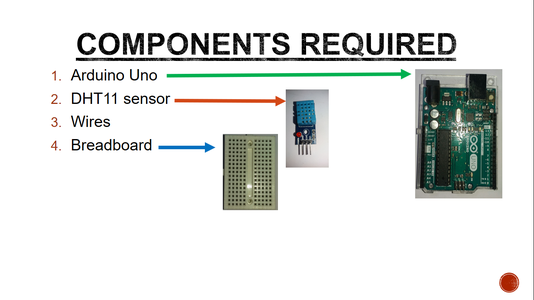 Components Required:
