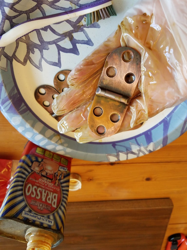 Get Remaining Rust and Some Tarnish Off With Brasso