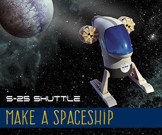 Make a Spaceship - S25 Shuttle