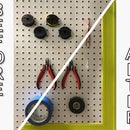 Pegboard Makeover