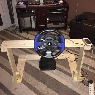 DIY Steering Wheel Stand