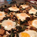 Moroccan Baked Eggs