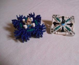 Customizable K'nex Fidget Spinners.