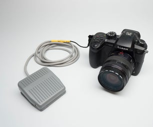 GH5 Foot Pedal Shutter Remote