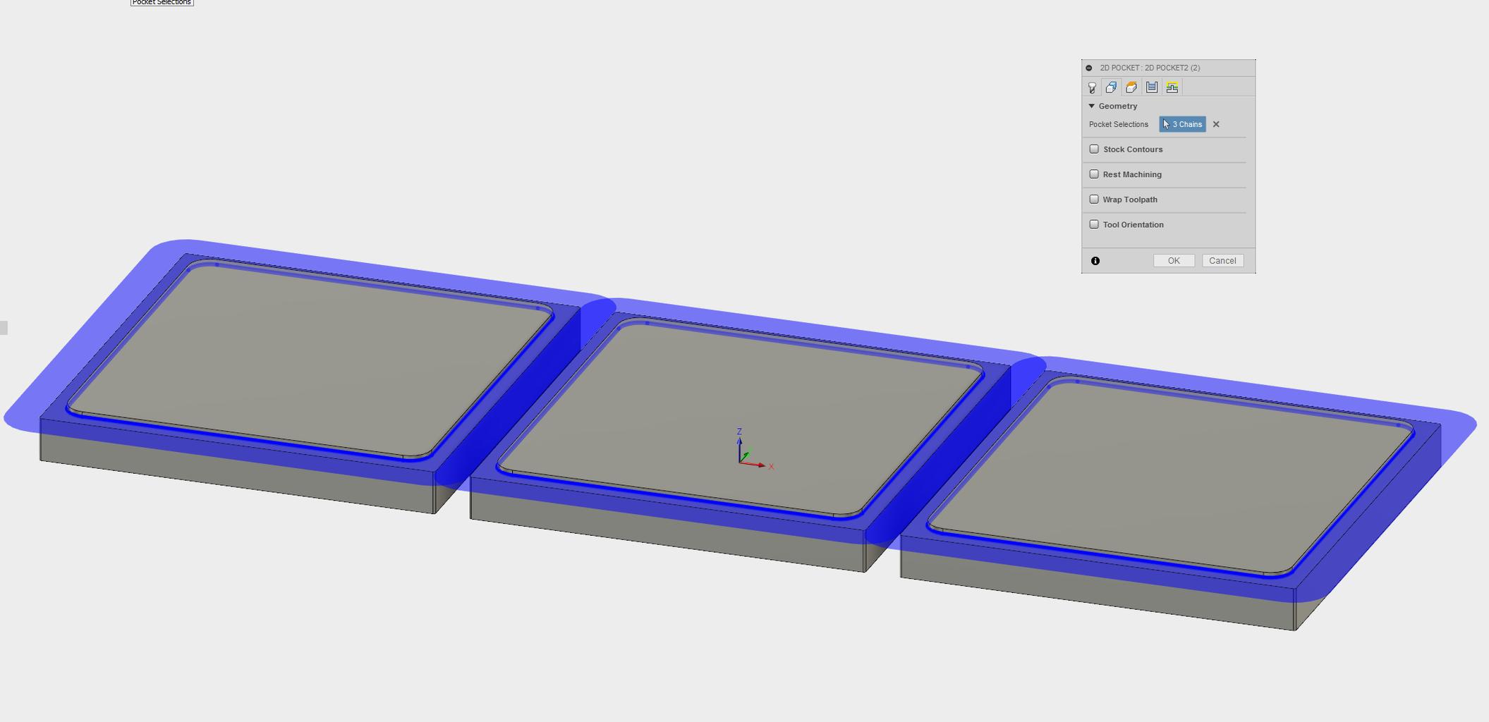 Setup2: 2D Pocket