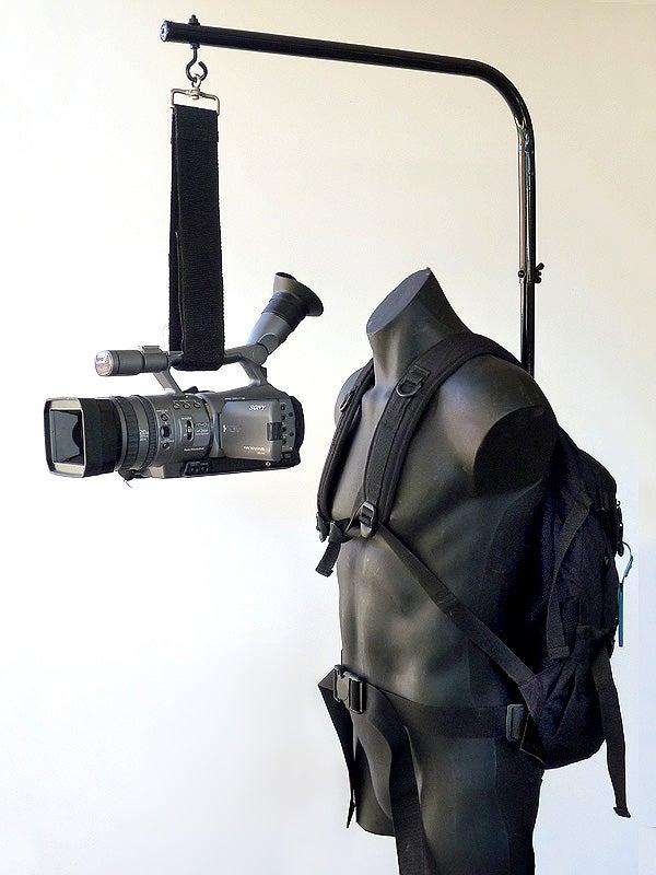 Homemade 'Easyrig' Overhead Camera Support