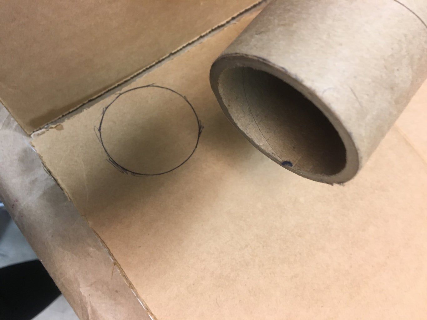 Making the Cardboard Cup