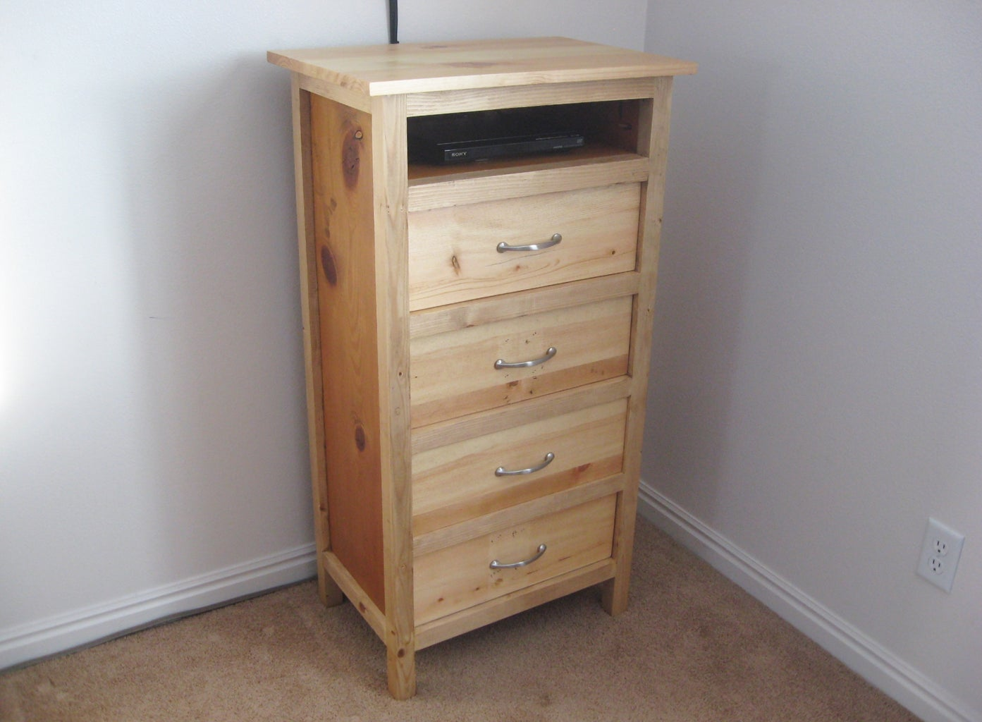 Lingerie Chest From Reclaimed Wood