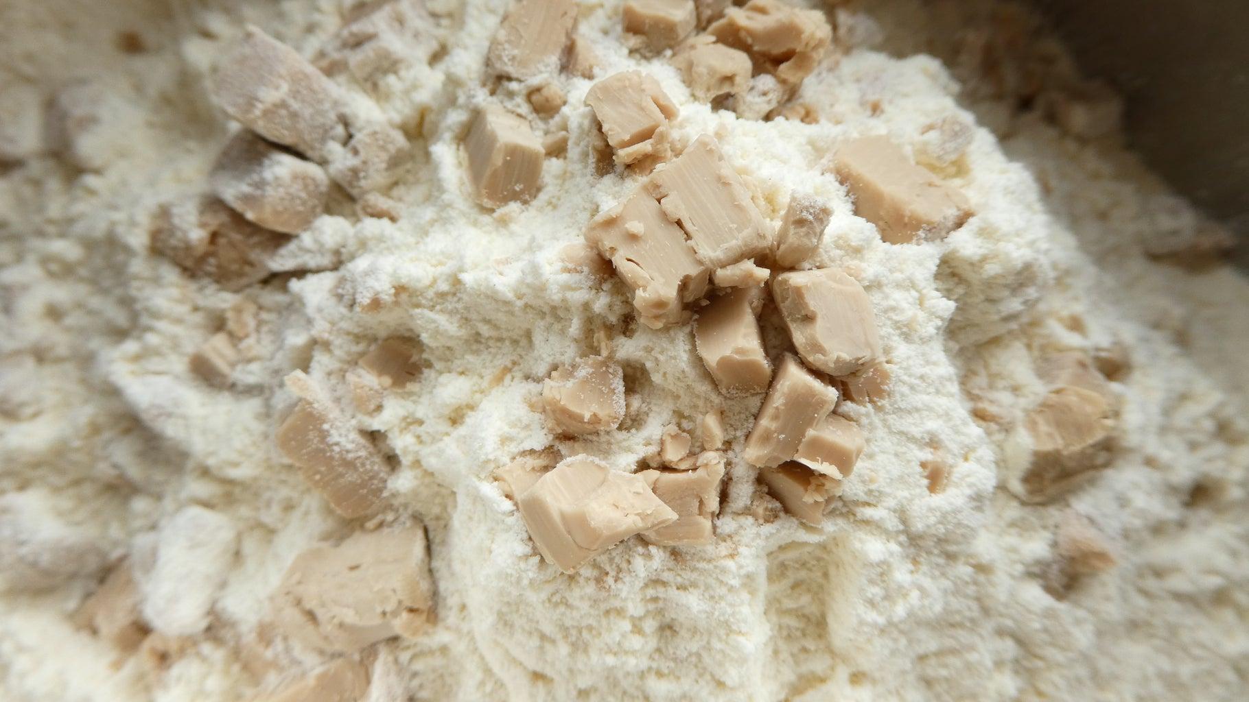 Preparing the Dough: