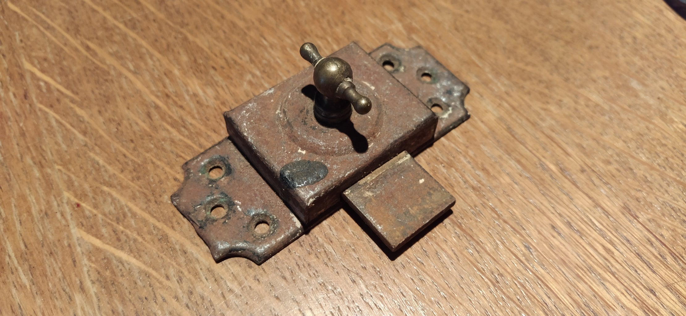 Cleaning Up a Rusty Latch