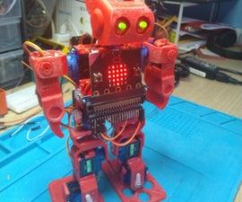 跳舞Microbit Robot.
