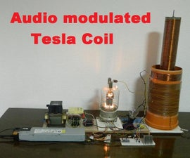 DIY Arduino Audio Modulated (misical) Tesla Coil