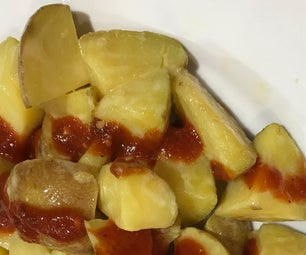 Patatas Bravas Con Aioli
