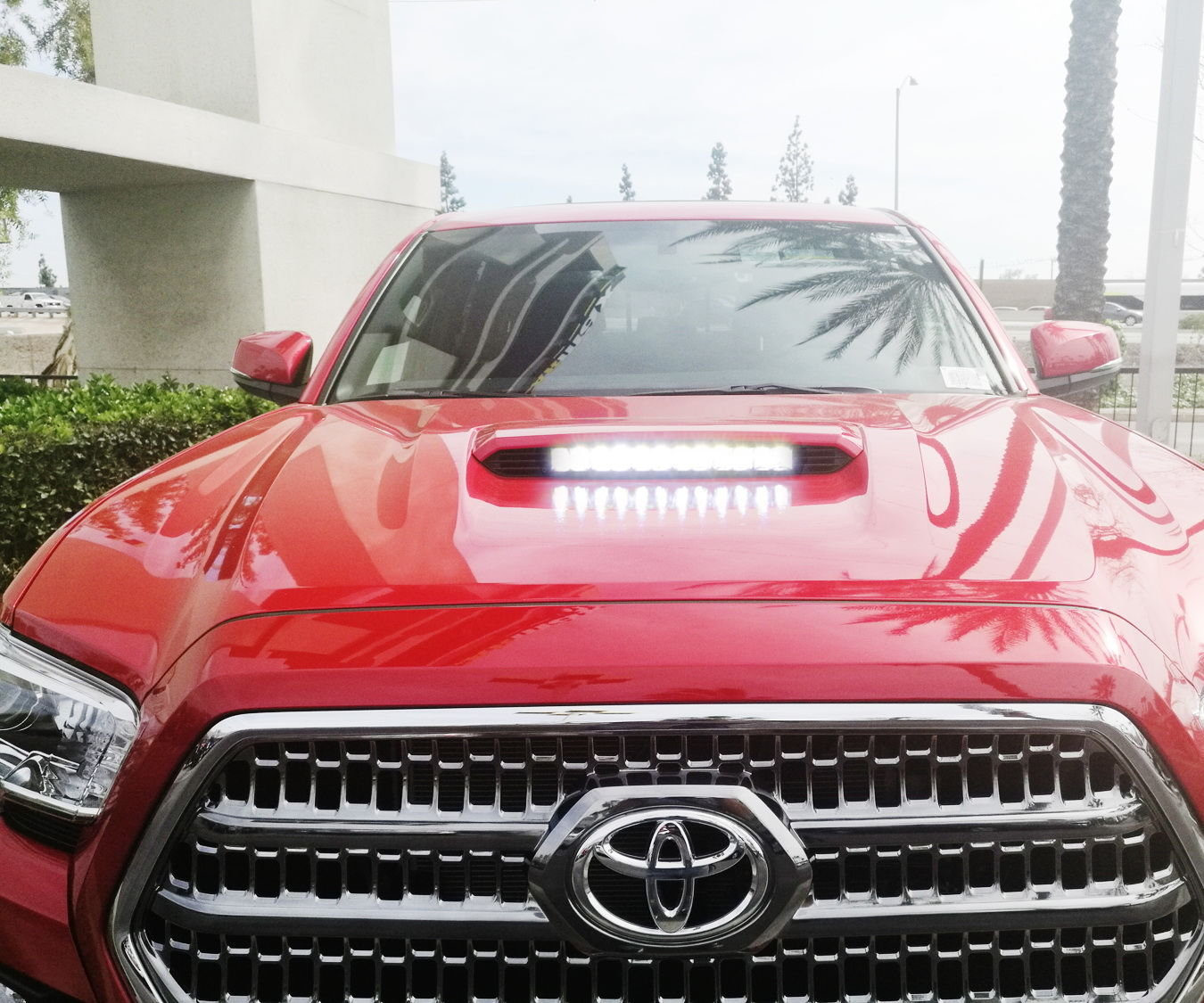 60W LED Lightbar for 2016-up Toyota Tacoma Install Guide