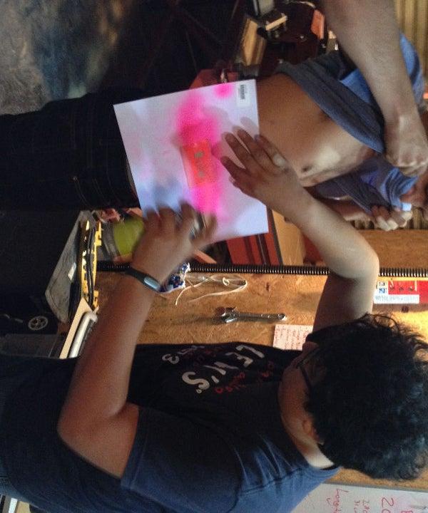 Tatuajes Punk Con Vinil Cortado En SIlhoutte