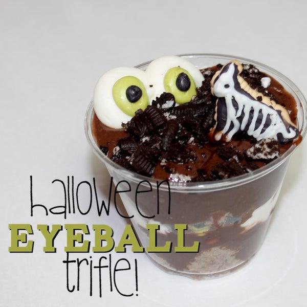 Halloween Eyeball Trifle!