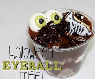 Halloween Eyeball Trifle!
