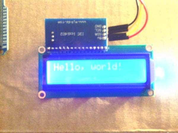 I2C LCD Controller (the Easy Way)
