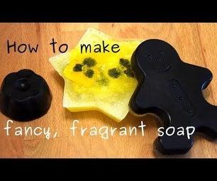 如何制作花哨,香皂