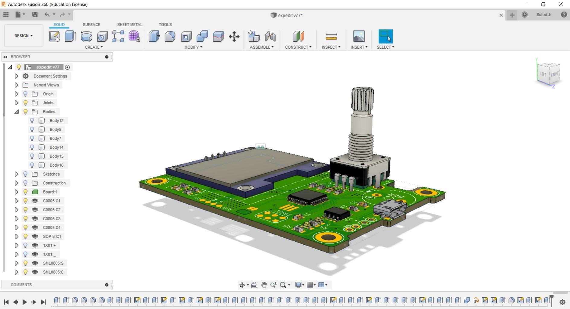 Designing PCB Using Autodesk Eagle