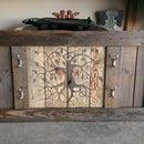 Gun Rack from Reclaimed Pallet Wood