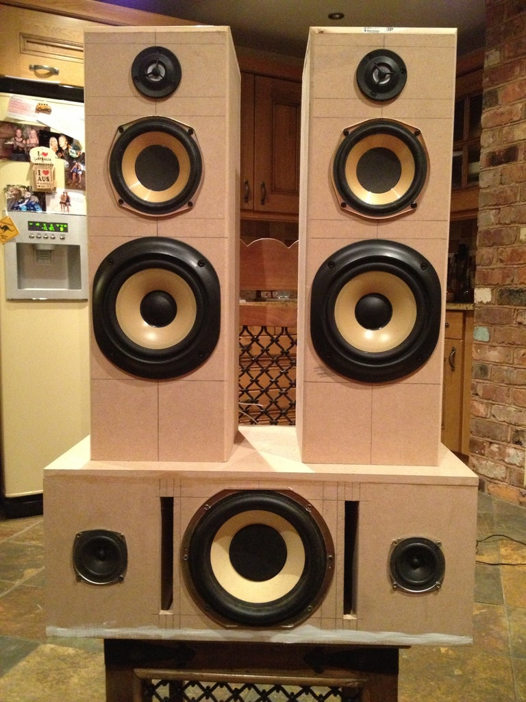 Airplay Hifi Tower Speakers + Subwoofer