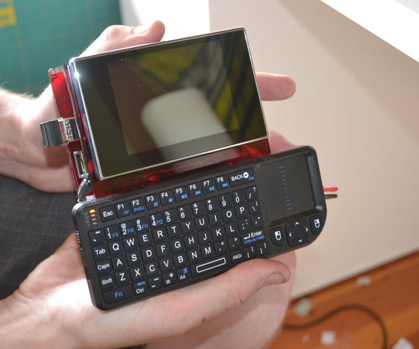 Make a Portable Computer Using a Raspberry Pi