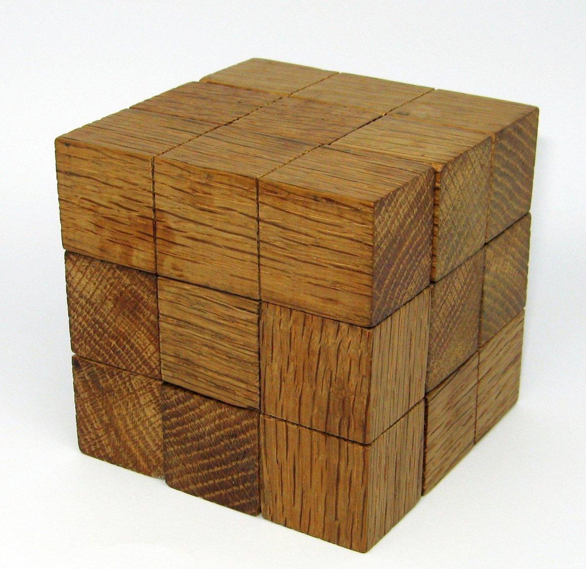 Make a Wooden Soma Cube