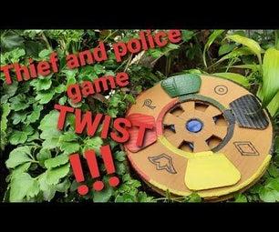 小偷和警察角色扮演游戏