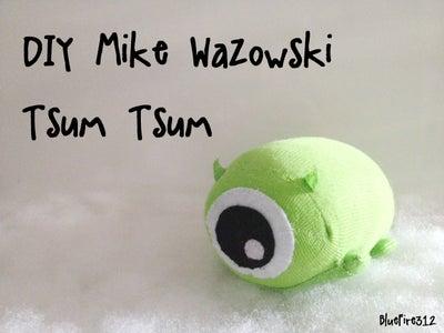DIY Mike Wazowski Tsum Tsum