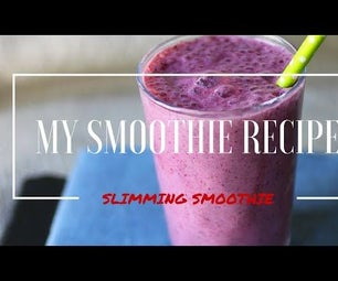 Healthy Smoothie (morning Drink)