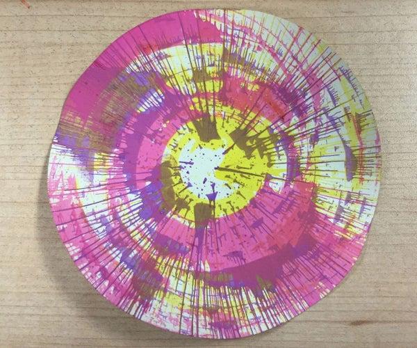 Spin Art Machine Kit
