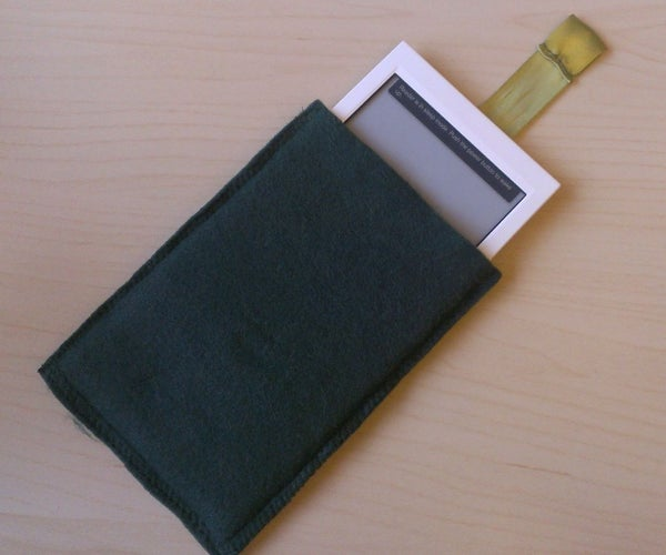 Felt Case With Pull Strap