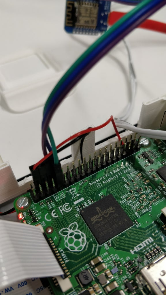 Read and Write From Serial Port With Raspberry Pi Using Wemos