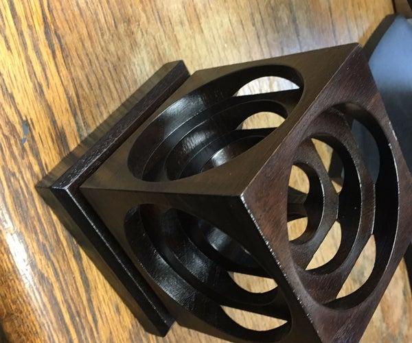 "CNC Desk Ornament ""the Block"" (With 3D Model)"