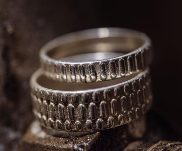3D Printed Wedding Rings