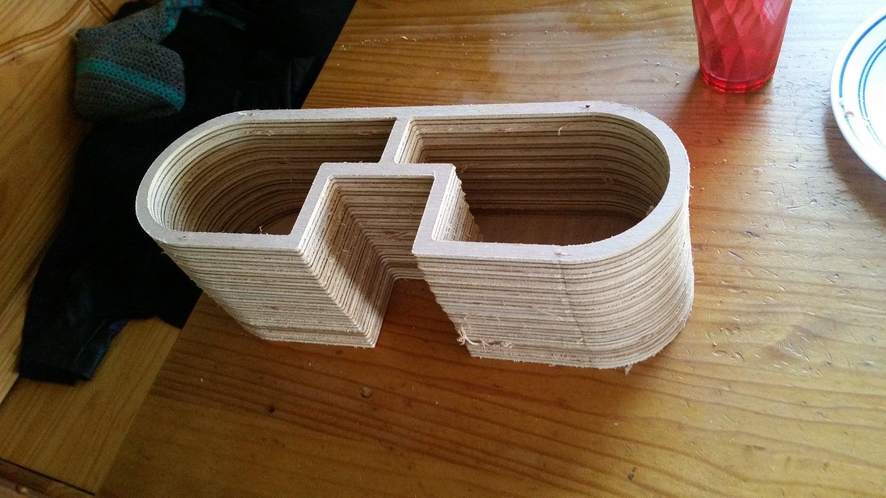 Cut, Glue and Sand