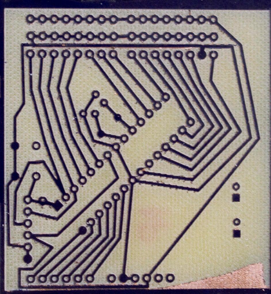 Fabricação De Placa De Circuito Com Frasadora CNC