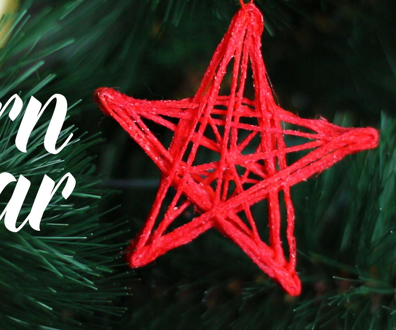 DIY Yarn star