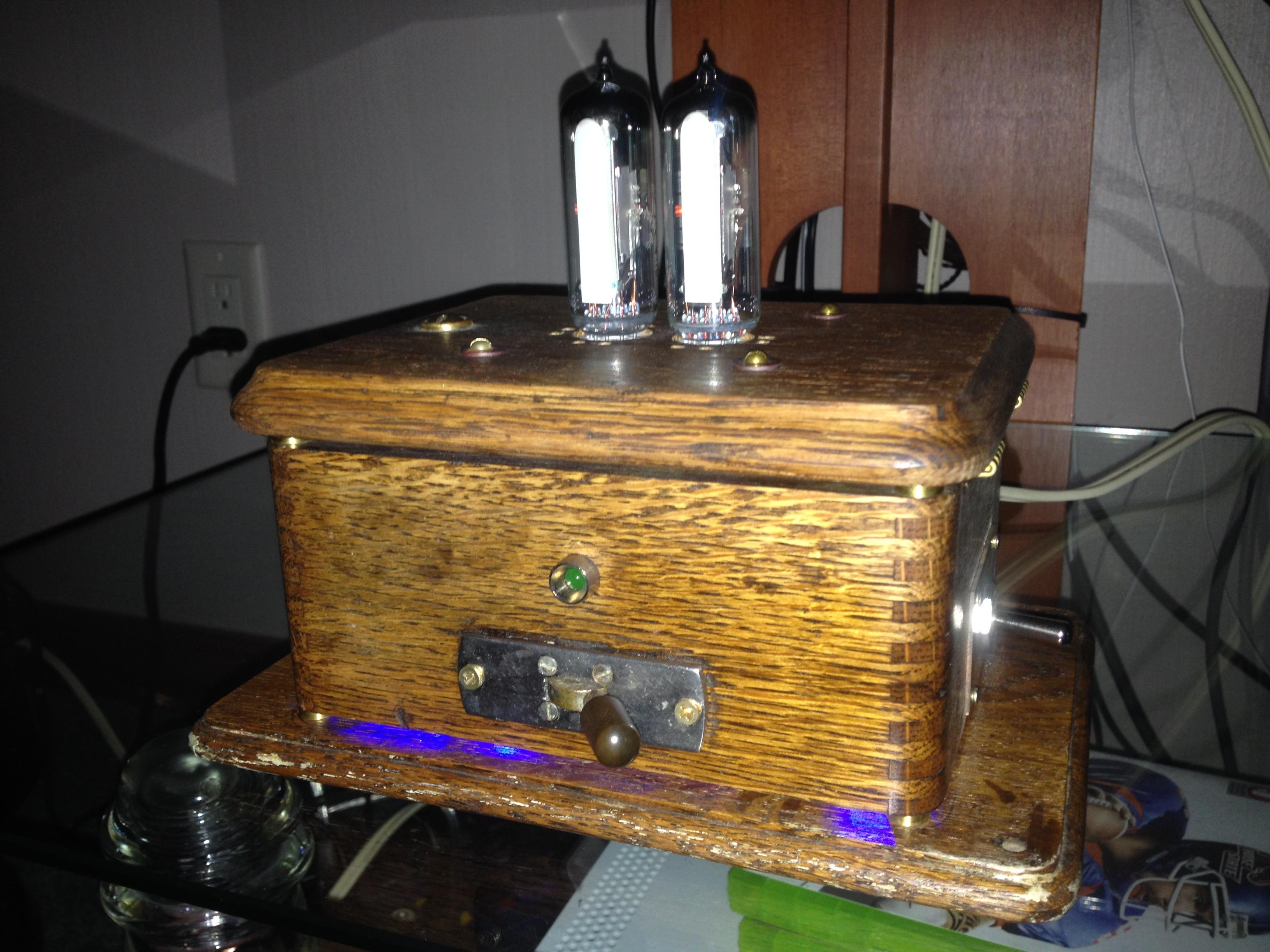 Steampunk VU Meter