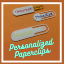 How to Make Personalized Paperclips / Bookmarks Using Tinkercad Codeblocks