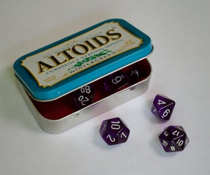 阿尔托德锡骰子盒