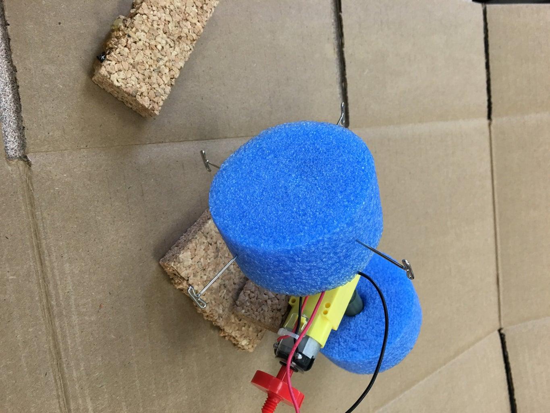 Attaching the Foam Discs